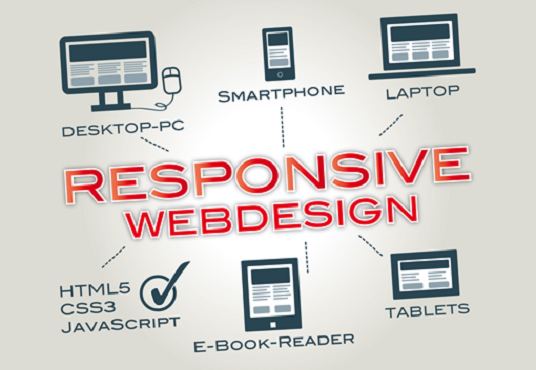 I will design Responsive and Professional Website