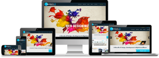 create Professional Responsive Websites