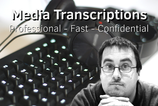 I will professionally transcribe up-to 8 audio minutes