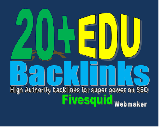 I will create 20 edu backlinks