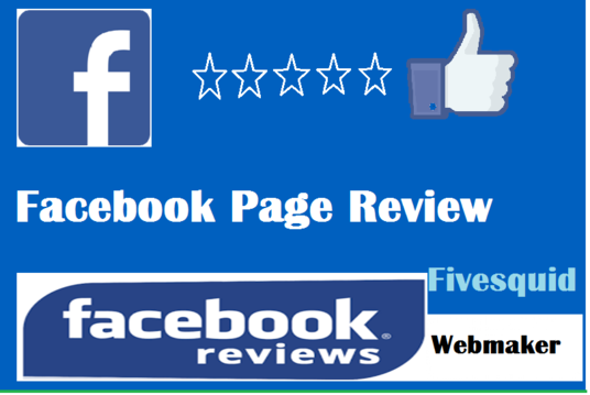 I will give Facebook page reviews