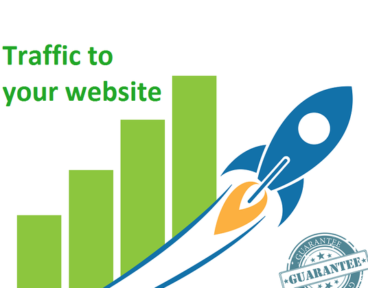 I will boost your site by 50,000  Google search keyword traffic