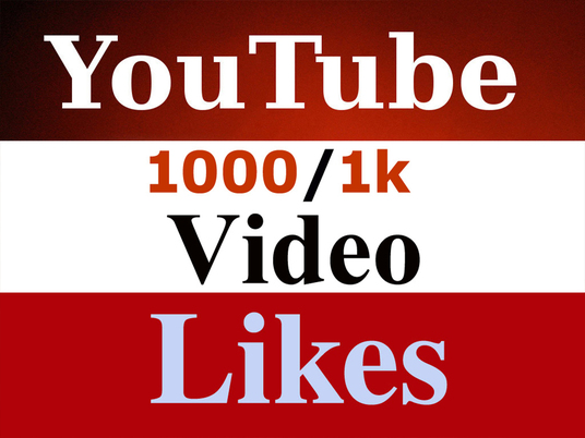 I will 1,000 Safe YouTube Likes In Your Video