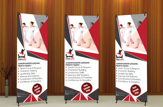 I will Design Roll Up Banner For Your Business