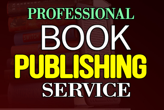 I will Be Your Book PUBLISHING Service For Createspace, Ingramspark,Kindle Or Lulu