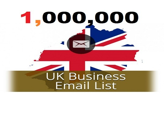 I will Give You 1M UK Business Email Lists