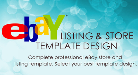I will design amazing ebay store shop html listing template