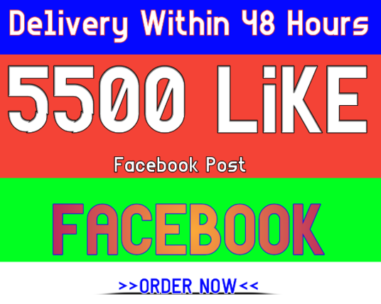 I will give you 5000 Facebook post like 24 hrs