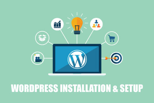 I will Help You Install Wordpress And Set Up Your Website