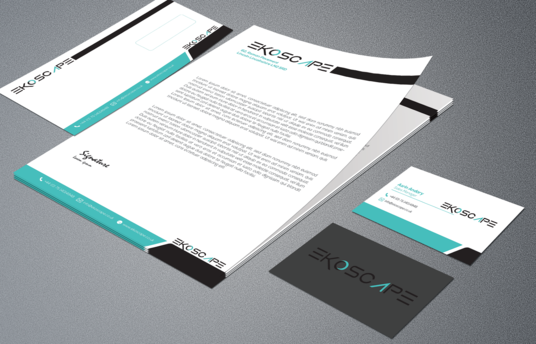 I will do letterhead and matching business card and envelop for your Corporate  business