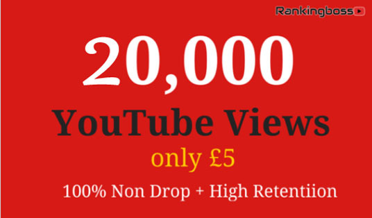 I will provide 20,000+ Real YouTube Views