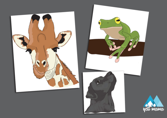 I will illustrate any animal into vector