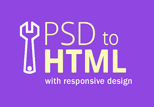 I will convert your psd to html only 24 hours