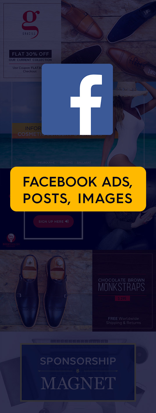 I will design a Facebook Ad, FB Advertisment, Social media Post