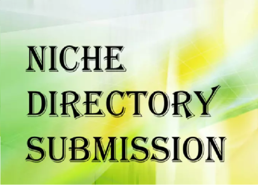 Promote your website 40 Niche Directories Submissions Manually