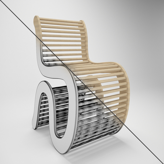 I will design photo realistic  3D furniture model