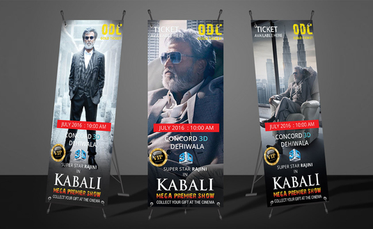 I will design ads banner and x stands banner in 24hrs
