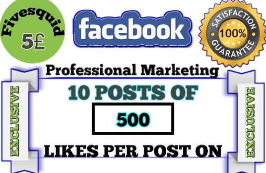 I will give you 5000 post likes