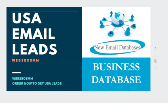 I will Give you Fresh USA Business Email Leads For Email Marketing