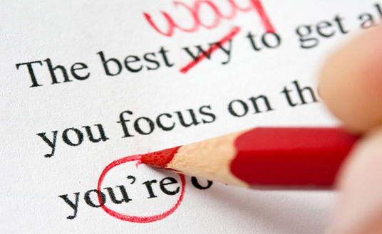 I will proof read and correct errors in your essay or written work