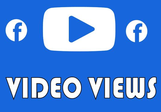 I will Add 200,000 Facebook VIDEO VIEWS