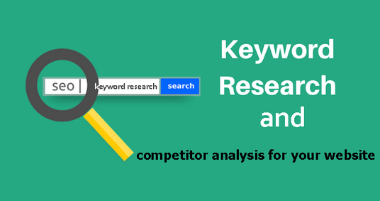 I will Do Professional Keyword Research With Competitor Analysis