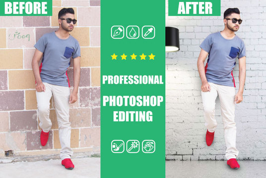 I will do mind blowing Photoshop editing