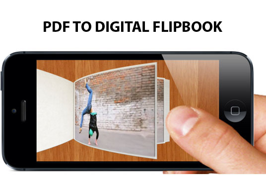 convert your PDF, Word, Image into Digital Flipbook