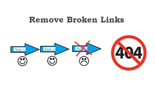 I will Provide A Broken Link Report For Your Entire Site
