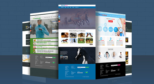 I will Design A Awesome Website PSD Template