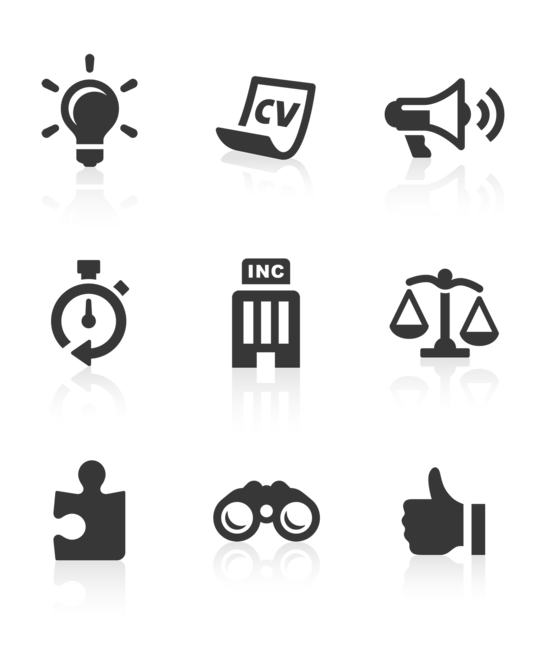 I will create 9 customised vector icons