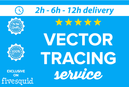 I will Convert Your Logo Or Image To VECTOR with in 2 hours