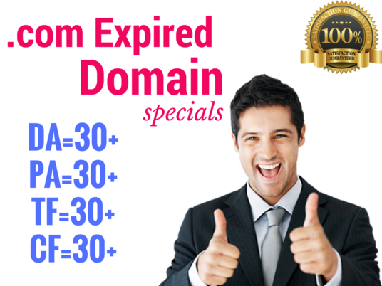 I will Find SEO Friendly 5 Expired Domain With High Metrics