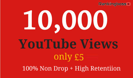 I will provide 10,000+ Real YouTube Views