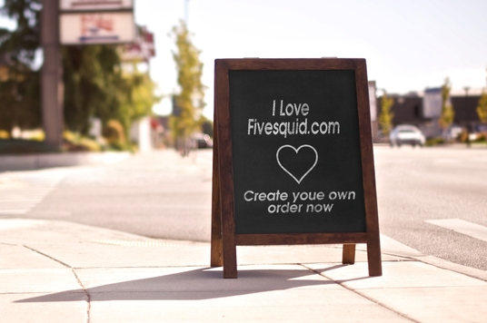 I will create a Roadside chalkboard mock up