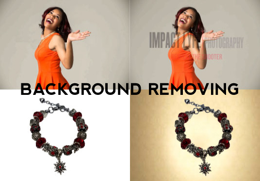 I will remove background of your image or product