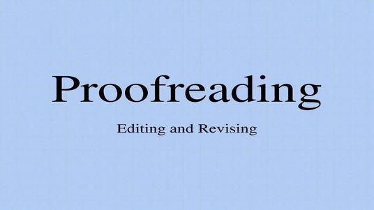 I will professionally proofread and edit up to 1000 words
