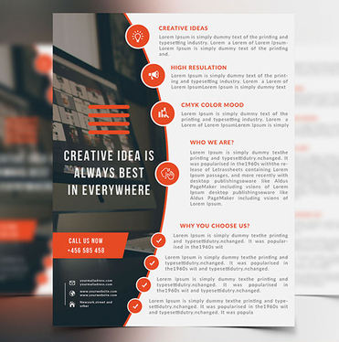 design a Creative Flyer And Brochure