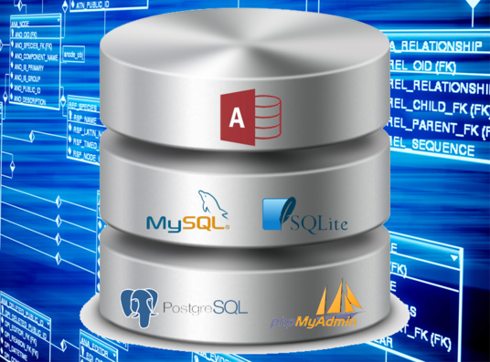 I will create ERDs and design databases in MySQL and MS Access