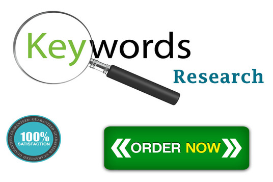 I will do In-Depth Keyword Research