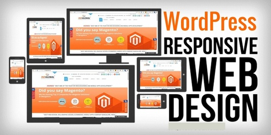 I will Design Beautiful responsive Wordpress Website  for you