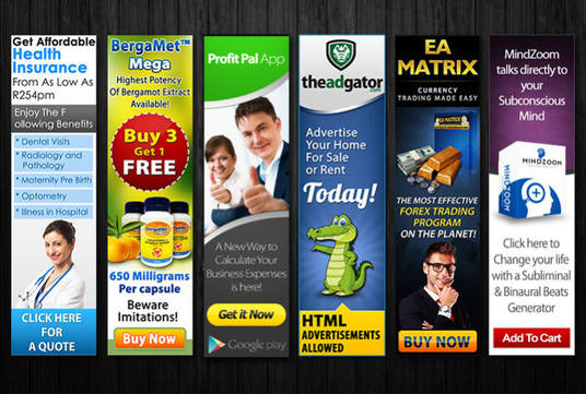 I will Create Web Banner Or Ad Set of 20