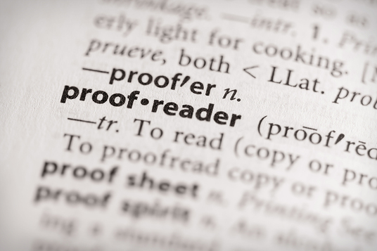 professionally proofread and edit up to 5000 words