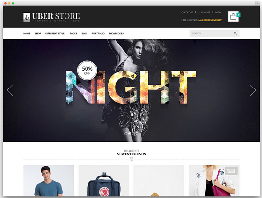 I will build a eCommerce website  from scratch
