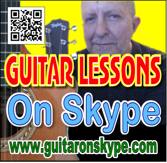 I will Skype a Guitar Lesson for you