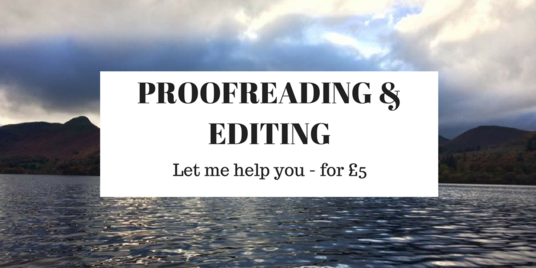 I will proofread and edit 750 words