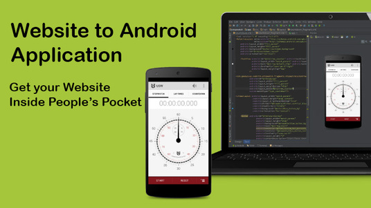 I will Convert Website into Android Application
