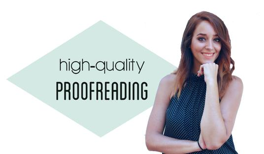 professionally proofread and edit up to 500 words