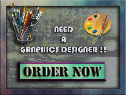 I will do any type of Graphical work professionally