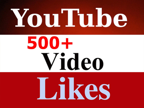 500 Safe YouTube Likes In Your Video